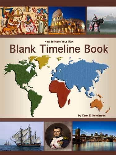 Make a Blank History Timeline Book for Kids